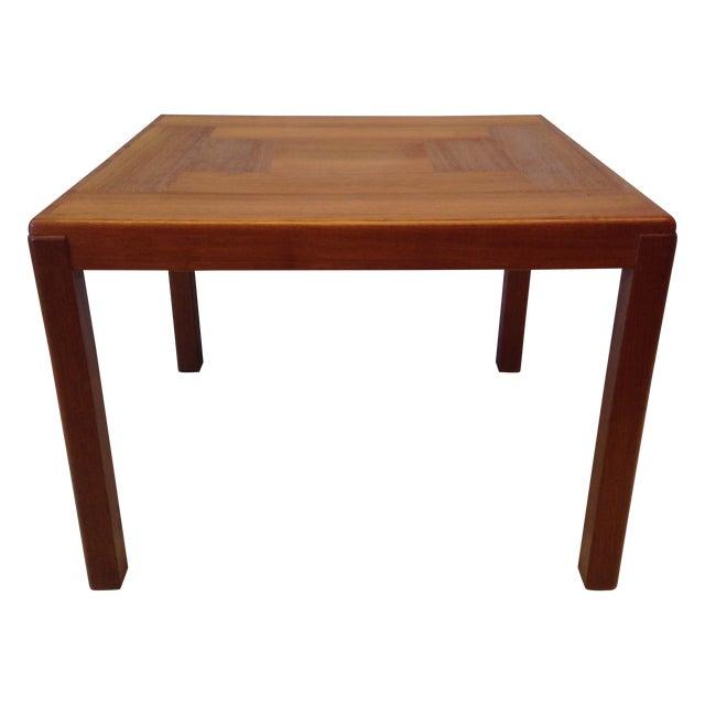 Danish Mid Century Teak Coffee Table 1 Small: Mid Century Modern Danish Teak Coffee Table