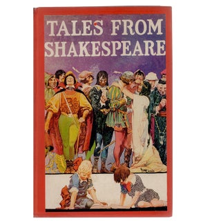 "Antiqu ""Tales From Shakespeare"" Hardcover Book"