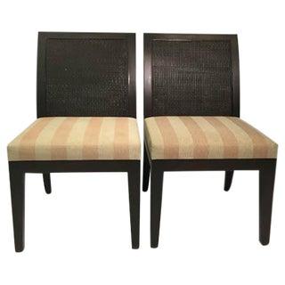 Christian Liaigre Maquis Chairs - a Pair