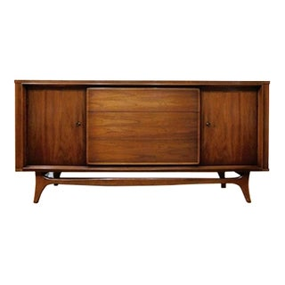 Mid-Century Modern Sculpted Credenza