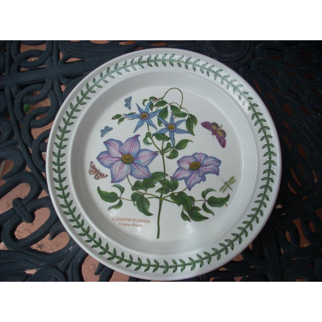 Portmeirion floral dinner plates set of 4 chairish for Portmeirion dinnerware set of 4 botanic garden canape plates