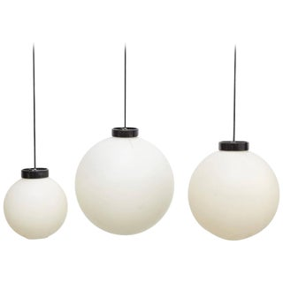 Set of Three Pending Lamps by Miguel Mila for Tramo, circa 1970