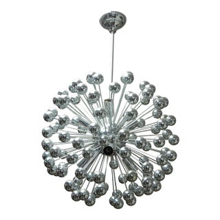 Modern Chrome Sputnik Chandelier