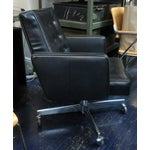 Image of Black Rolling Desk Chair