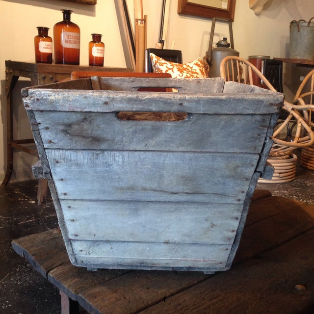 Image of Vintage French Champagne Crate