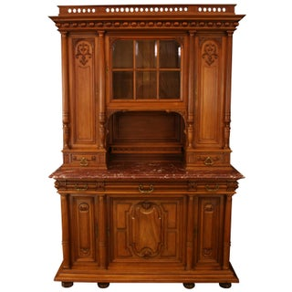 1900 French Renaissance Carved Buffet