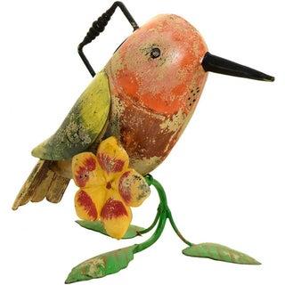 Hummingbird Iron Watering Can