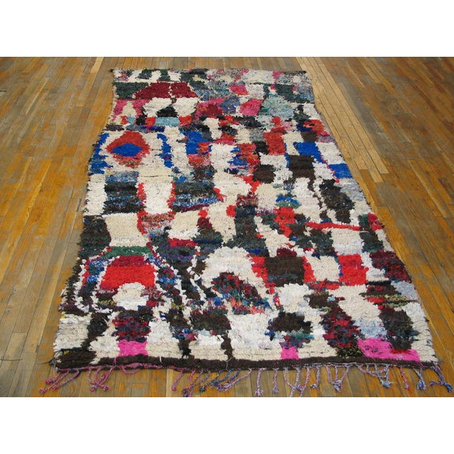 "Traditional Moroccan Wool Rug - 4'8"" x 8'8"" - Image 2 of 4"