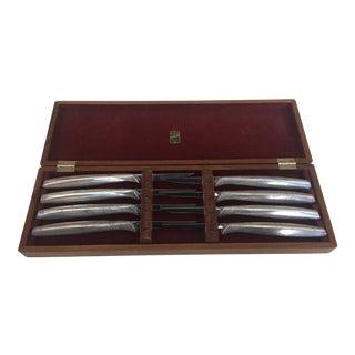 Vintage Mid-Century Gerber Legendary Blades Steak Knives - S/8