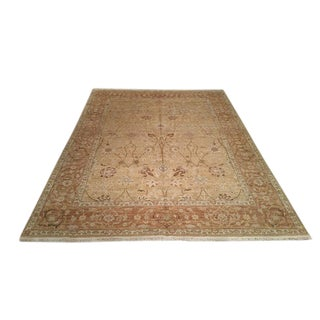 "8' X 10'3"" Traditional Handmade Knotted Rug - Size Cat. 8x10"