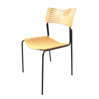 Fritz Hansen Plywood/Metal Chair by Knoll