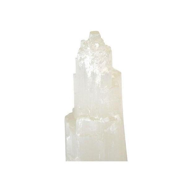 Image of Vintage Mineral Selenite Formations - Set of 3
