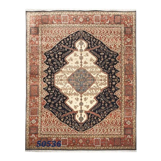 Antique Persian Style Serapi Area Rug - 8' x 10'