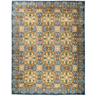 """Suzani Hand Knotted Area Rug - 9'5"""" X 11'10"""""""