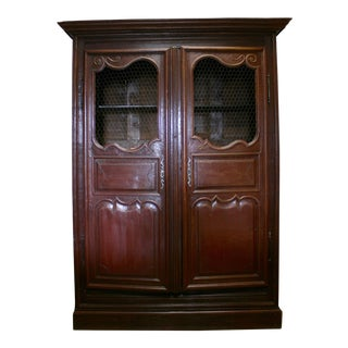 English Hand Carved Armoire