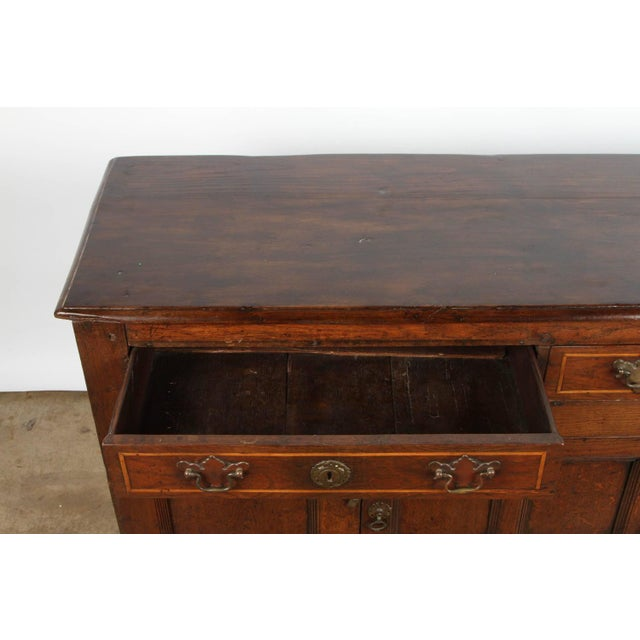 19th Century English Oak Sideboard - Image 5 of 10