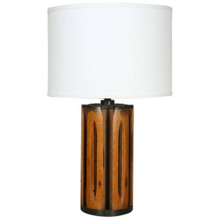 Transitional Rustic English Table Lamp