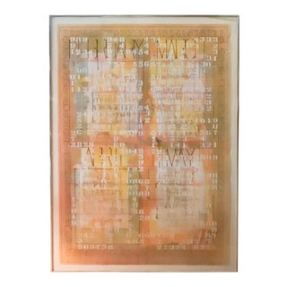 Listed Artist Darryl Nettles Painting - Calendar #2