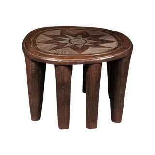 Nupe Tribe African Stool