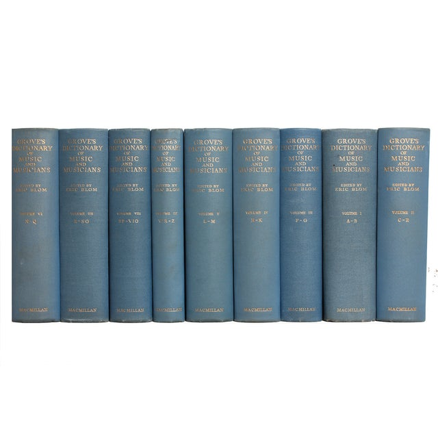 Image of Blue Musician's Library - Set of 9