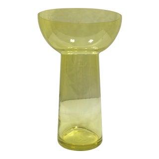Swedish Style Art Glass Vase