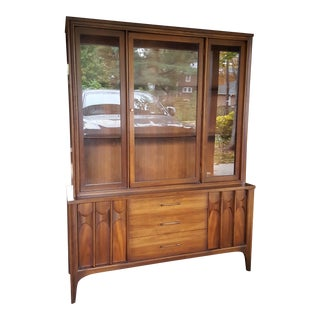 Vintage Mid-Century Kent Coffey Perspecta China Cabinet