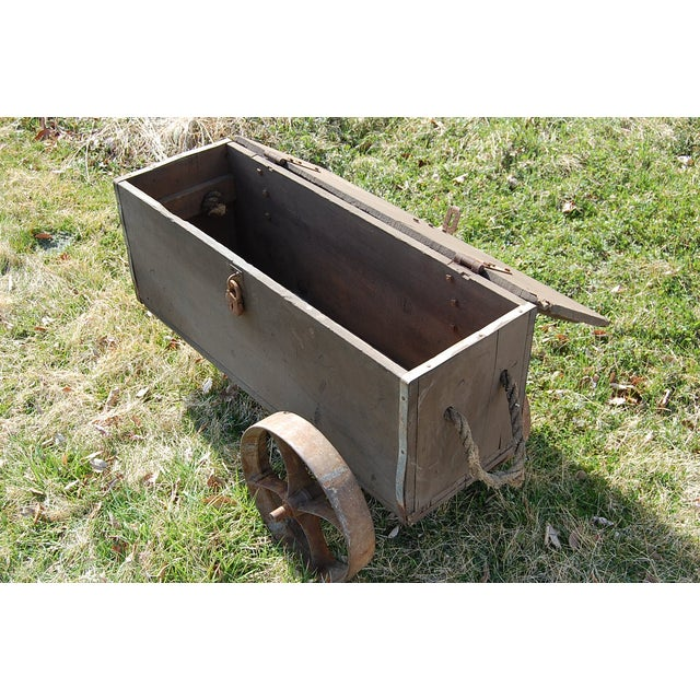 Industrial Rustic Factory Cart Coffee Table: Industrial Rustic Handmade Coffee Table Cart
