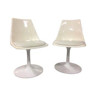 Mid-Century Modern Krueger Tulip Chairs - Pair