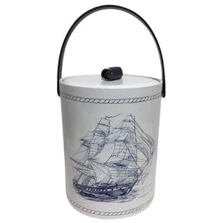 Vintage Nautical Ice Bucket