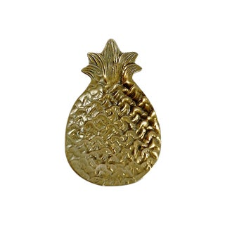 Brass Pineapple Catchall