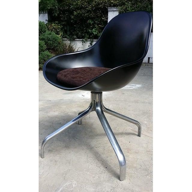 Mid-Century Modern Swivel Chairs - Set of 3 - Image 6 of 6