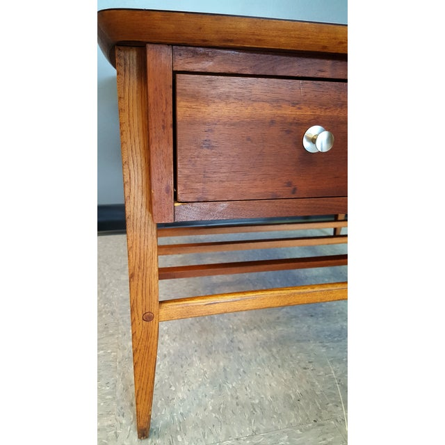 Mid-Century Lane Co. Single Drawer Side Table - Image 9 of 11