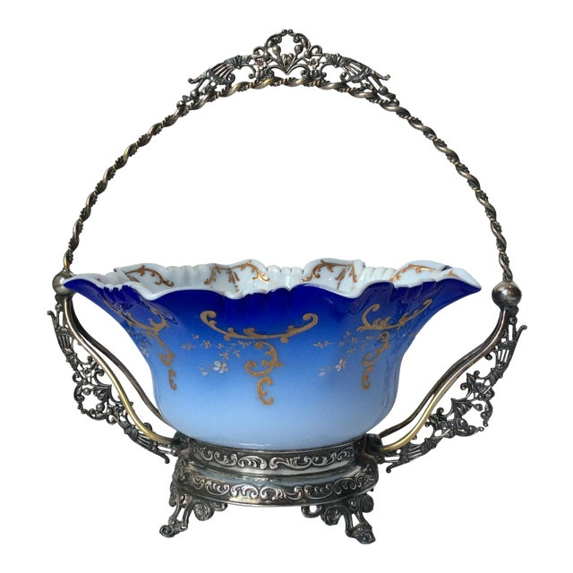 Wilcox Silver Victorian Brides Basket - Image 1 of 10