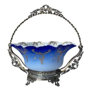 Wilcox Silver Victorian Brides Basket