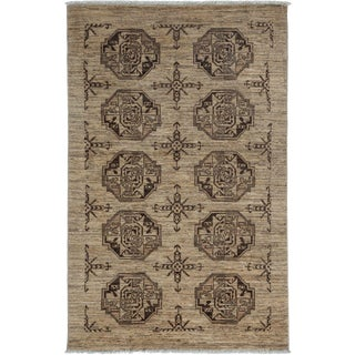"""Ziegler, Hand Knotted Area Rug - 3' 10"""" x 6' 0"""""""