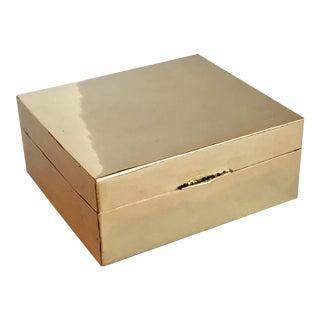 Vintage Brass Box
