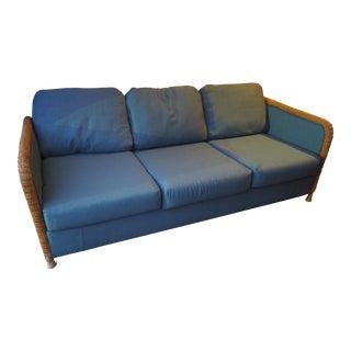 Vintage Typhoon Intl Wicker Sofa