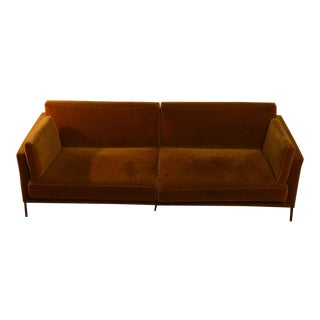 ABC Carpet & Home Piero Lissoni Velvet Sofa