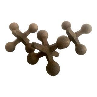 Decorative Metal Jacks - S/3