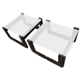 Percival Lafer Occasional Tables - A Pair