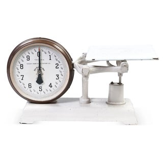Vintage 2-Sided Counter Scale