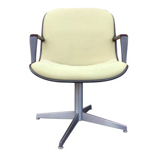 Steelcase Mid-Century Modern Swivel Desk Chair
