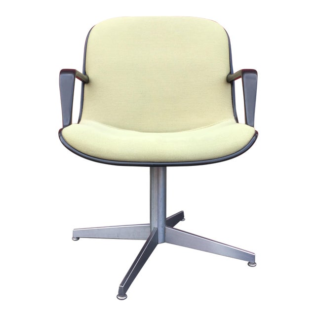 Steelcase Mid Century Modern Swivel Desk Chair Chairish