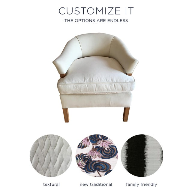 """""""Linden"""" Chair + Custom Upholstery Service - Image 5 of 5"""