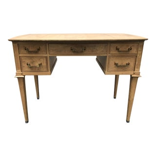 Mastercraft Desk Burled Wood