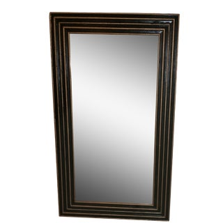 1940s Black & Gold Turner Mirror