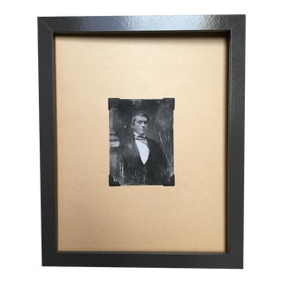 """Framed """"The Senator"""" Daguerreotype Print"""