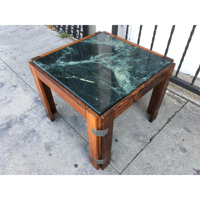 Verde Green Marble Top Side Table - Image 4 of 10
