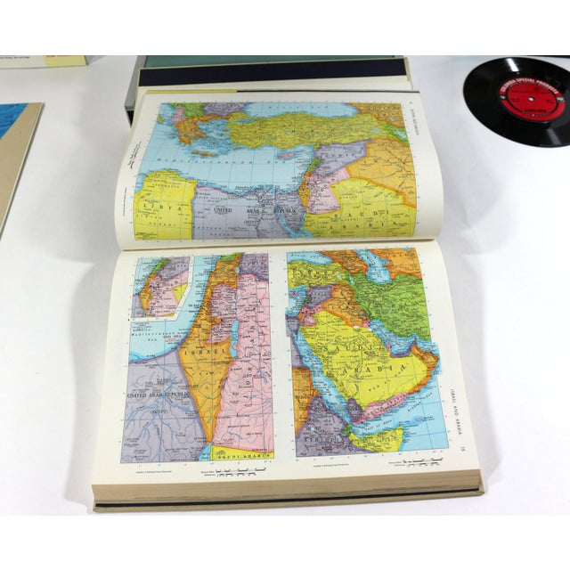 1960s Rand McNally New World Portrait Globe Set - Image 6 of 7