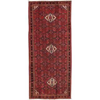 """Vintage Hamadan Wool Area Rug - 4'2"""" X 10'2"""""""